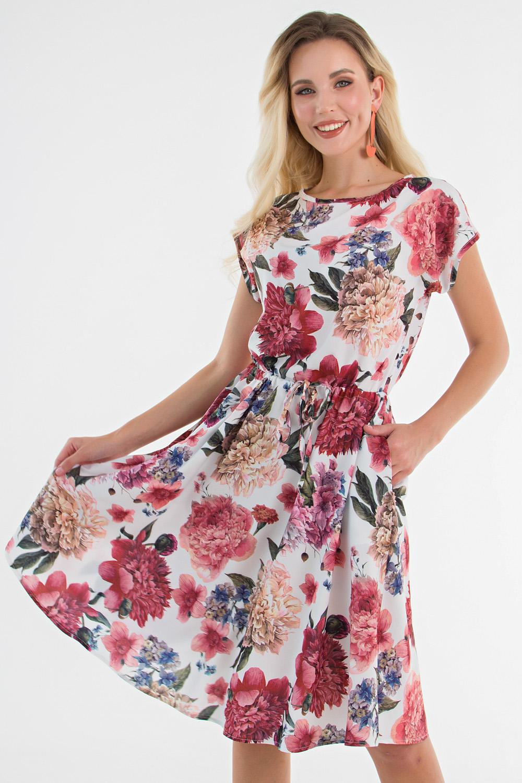 """Платье """"Хилена"""" (цветочная сказка) П1500-13"""